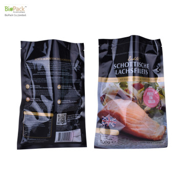 Custom Print Food Grade Flexible Vacuum Bag with Gusset for Fish and Meat