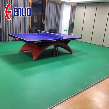 Table tennis pvc floor mat with ITTF