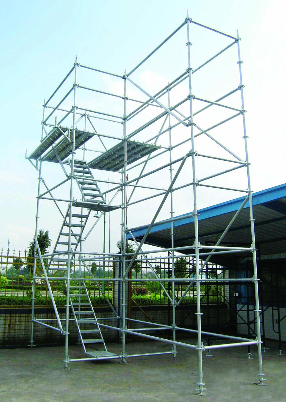 Layher Ring Lock System Scaffolding
