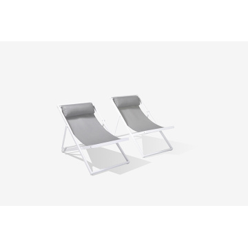 Aluminum Sling Patio Beach Chair