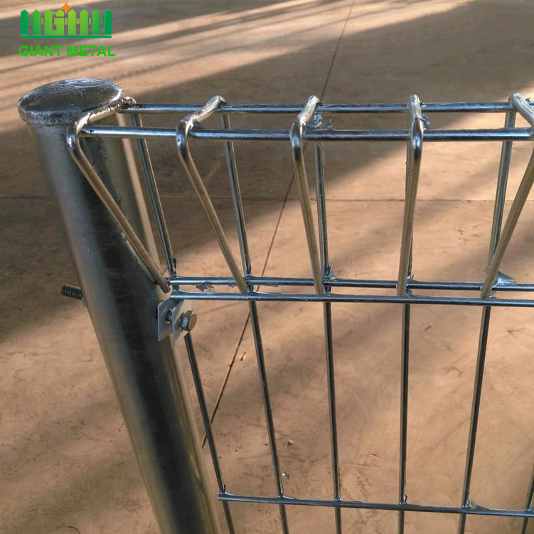roll top wire mesh metal garden fence