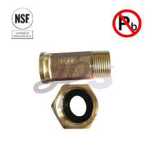NSF-61 Lead free bronze or brass water Meter Coupling