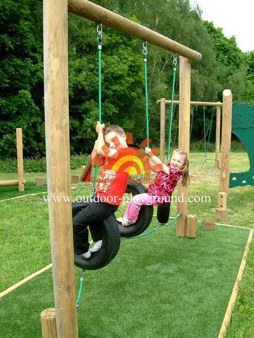 Children S Tyre Walk Balancing Outdoor Playground