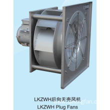 Single Inlet Direct Coupled Centrifugal Fan Without Volute