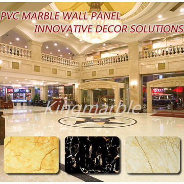 new design Pvc Marble Wall Panels