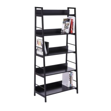 Amazon Hot Selling Industrial Ladder Steel Bookshelf