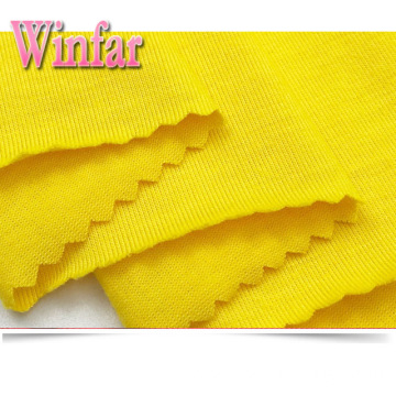 Polyester Solid Dye Single Jersey Knit Polyester Fabric