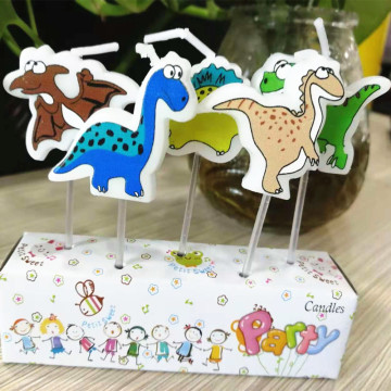 Hot Selling Dinosaur Shaped Birthday Candles