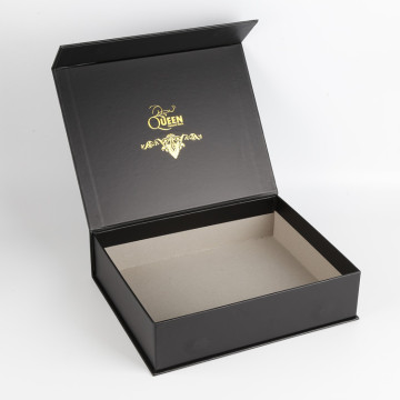 Custom Packaging Clamshell Book Shap Gift box
