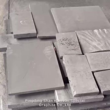 High purity isostatic pressed graphite sheet