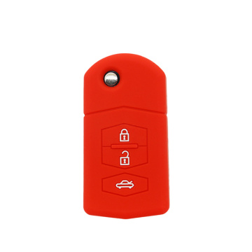 2018 Mazda Silicone Car 3 Key Fob Cover