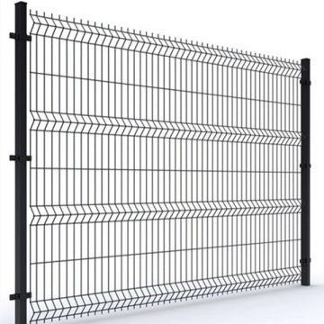 Cheap 3d welded iron wire mesh fence for yard
