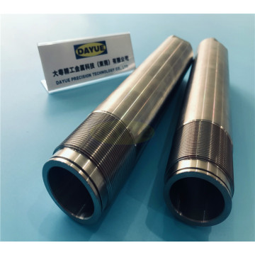 Custom cylinder mandrel and ground piston rod machining