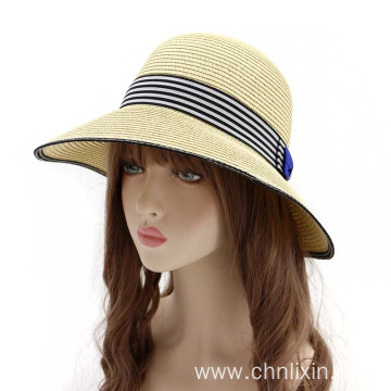 Summer bucket hat beach sun beanie straw hat