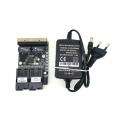 2F4E Fast Erhetnet 30 PCS 2F4E 10/100M Ethernet Switch 2 Fiber Port SC 25KM 4 UTP RJ45 Fiber Optical Switch PCBA Board