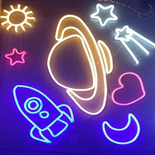 UNIVERSE LED NEON Illuminated Sign
