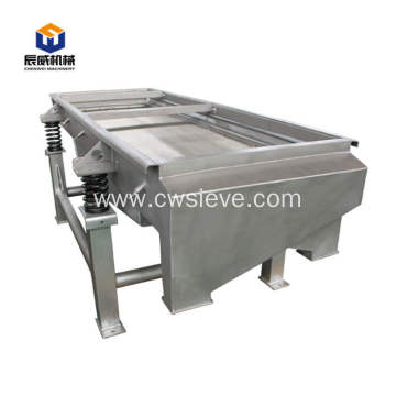 soil screening screen linear sieve machine