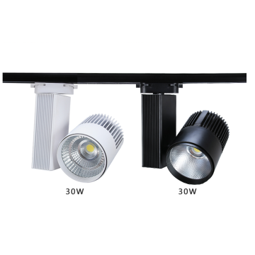 LED track lights for shop lighting