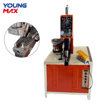 rivet machine making automatic aluminum pot rivet machine