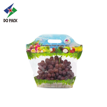 grape fruit vent bag stand up pouch