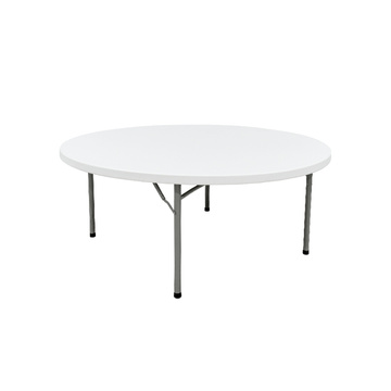 Plastic Round Folding Tables 1.80M For 8 People
