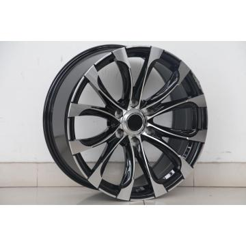 20x8.5 Black Machined face wheel rim Replica