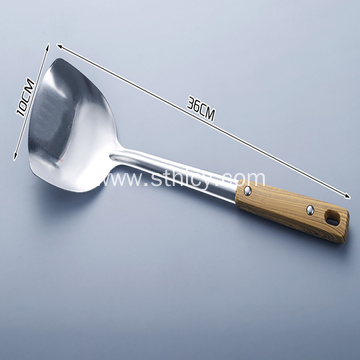 Wood Handle Stainless Steel Spatula  kitchen utensils