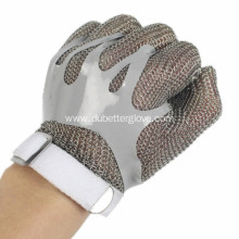 Four in one interlocking chainmail gloves
