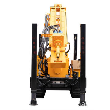 HQZ260 Pneumatic Water Well Drilling Rig
