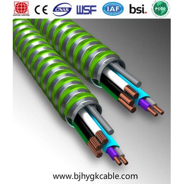 MC cable 1kv 12-2 AWG Armored cable BX