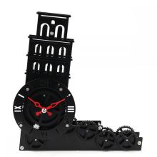 The Lean Tower Mode Gear Desk Clock