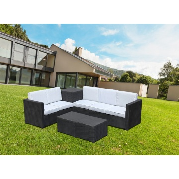 Swimming pool side Poly Cane Furniture outdoor sofa