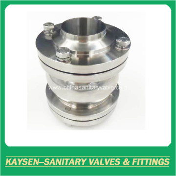 Hygienic Flanged Non-Return Valves Ball Type