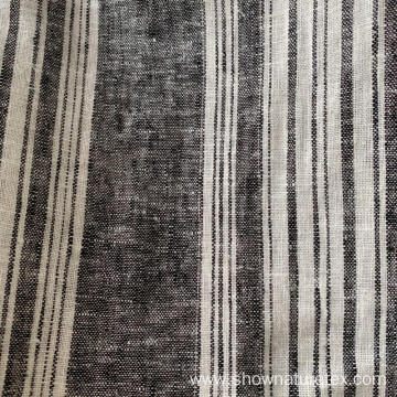 Linen Viscose Yarn Dyed Fabric
