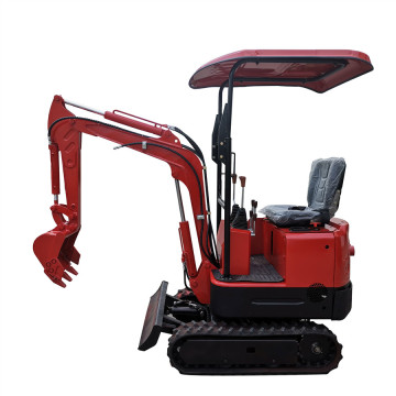 China Brand Crawler Small Garden Digging Machine Walking For Sale 0.8 Ton With Koop Engine 1.7t Mini Excavator