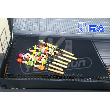 BBQ grill mat used on any BBQ Grill or as Pan Liner