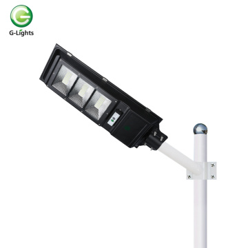 New design ip65 stamping iron solar street light