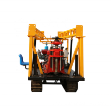 Crawler Hydraulic borehole water well drill rig