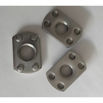 Plane automobile spot welding nuts