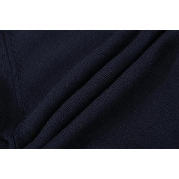 Men's Knitted Chiffon Front Pocket Plain Knit Cardigan