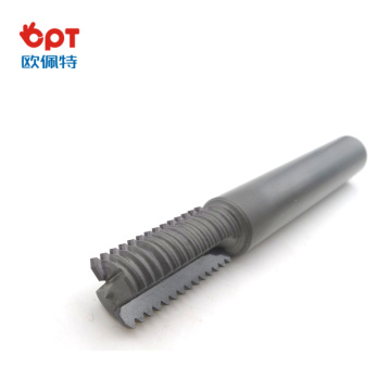 PCD lathe thread whirling milling ball cutter tool