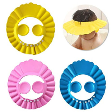 Baby Shower Caps Kids Adjustable Shower Cap