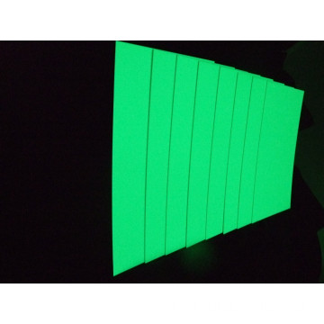 Realglow Photoluminescent PVC 경질 시트 RGB-H
