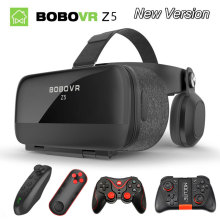"""VR BOX BOBOVR Z5 VR Glasses Virtual Reality goggles 3D glasses google Cardboard 2.0 bobo vr headset For 4.0"""" - 6.2"""" smartphone"""