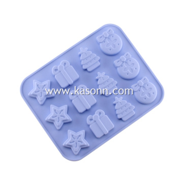 Mini Thanksgiving Silione Gift Cookie Chocolate Mold