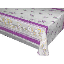 Elegant Tablecloth Square with Non woven backing