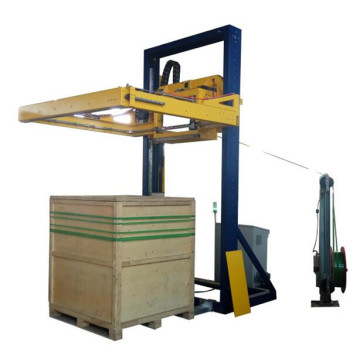 Automatic pallet strapping machine PET belt