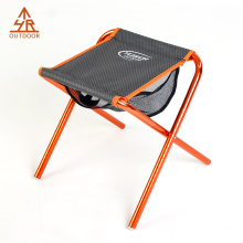 Ultralight aluminum Mini fishing Stool with mesh bag