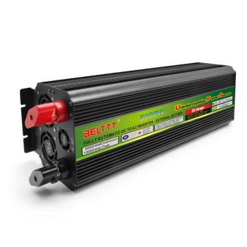 Black-Appearance practical portable UPS inverter 5000 Watt