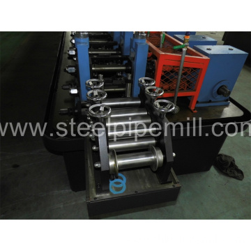 high frequency round pipe making machine